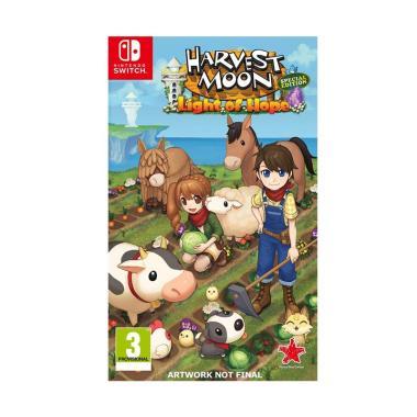 Nintendo Switch Harvest Moon: Light of Hope US DVD Game
