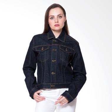 2nd RED 291801 Jeans Premium Stretch Jaket  Wanita - Black