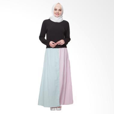 Edberth Fashion Aneisha Long Dress Muslim Wanita