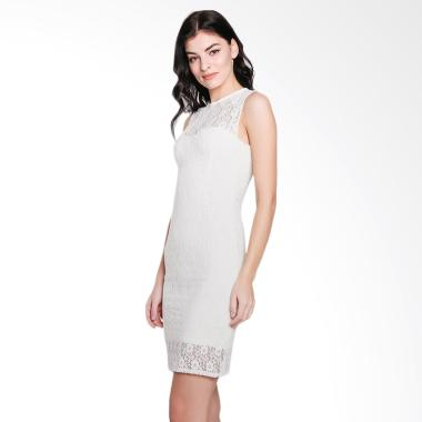 Jo & Nic Paper Doll Lace Dress - White