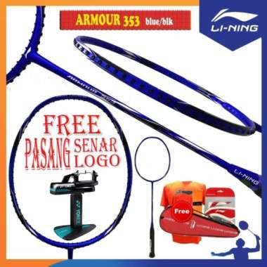 harga LINING ARMOUR 232 353 252 373 RAKET BADMINTON ORIGINAL - ARMOUR 353 Multicolor - Blibli.com