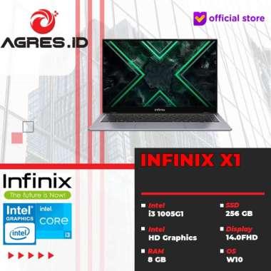 harga INFINIX X1 - I3-1005G1 8GB SSD 256GB sRGB 100% 14