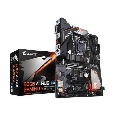 Gigabyte Motherboard B360 Aorus Gaming 3 [Socket 1151/DDR4/ATX/HDMI/DVI-D] with RGB Fusion
