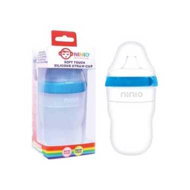 harga NINIO Botol Susu Silicone Bayi dengan sedotan - BST102 Blibli.com