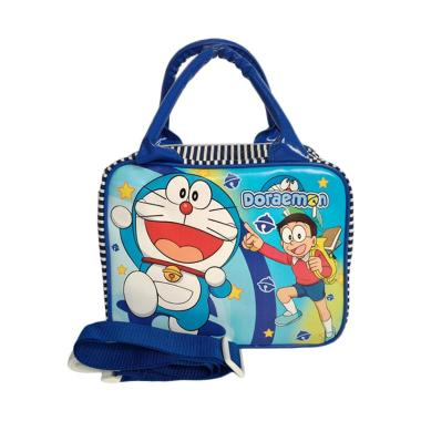 Doraemon 0930040057 Tas Travel Anak - Blue