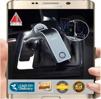 Modulator G7 Car Fm Transmiter Charger Bluetooth AUX MP3 USB LCD - Aksessoris Mobil