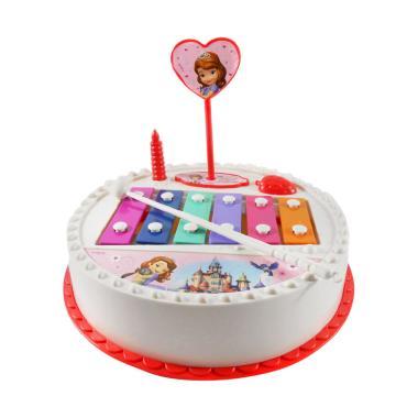 Disney Sofia Birthday Cake Xylophone Mainan Anak