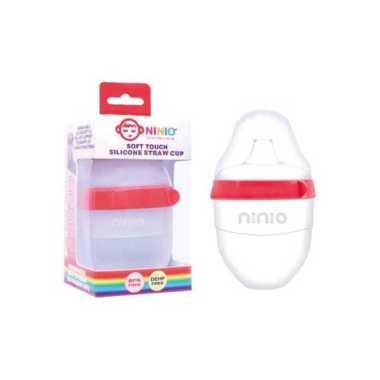 harga NINIO Botol Susu Silicone Bayi dengan sedotan 100ml - BST101 Blibli.com