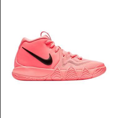 NIKE Kyrie 4 GS Sepatu Basket Pria - Pink