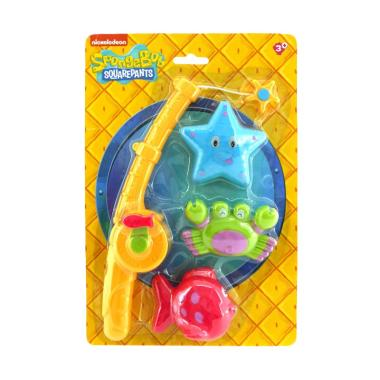 Nickelodeon SpongeBob Fishing Pole Mainan Anak
