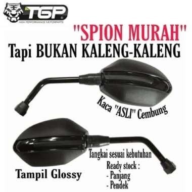 harga Jual Aksesoris Spion Motor Alpha Yamaha TGP Mio Nmax Vixion Aerox CB150R - tangkai panjang Murah Blibli.com