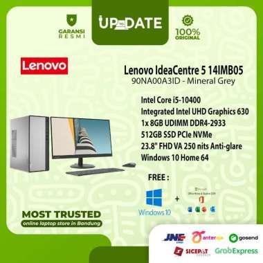 harga Lenovo IC 5 14IMB05 - A3ID - PC Desktop - [Intel Core i5-10400 / 8GB DDR4 / 512GB SSD / 23.8