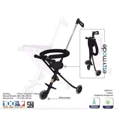 harga Stroller Bayi Balita Kereta Dorong Anak Ezzy S-05 PMB Toys Portable Black Blibli.com