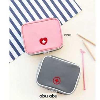harga Promo Dompet  Tas Perlengkapan Medis - Mini Kit First Aid Pouch KOREA Diskon Blibli.com