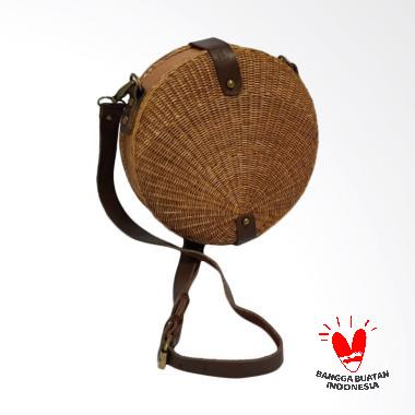 ARLI Nella Saddle Bag Tas Wanita - Coklat