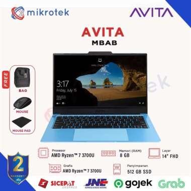 harga Avita Liber V14 Ryzen 7-3700U 8GB 512 SSD W10 14