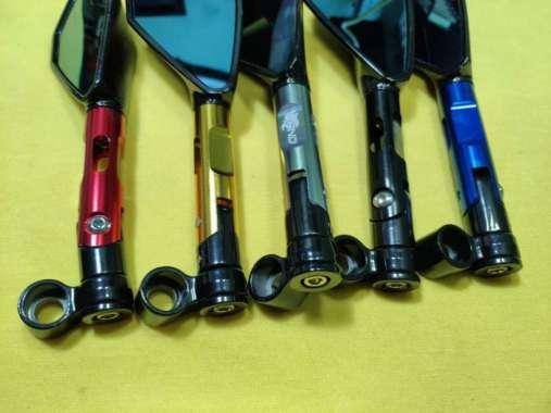harga Spion Motor Tomok Rizoma Full Besi CNC Variasi Aksesoris - Biru Multicolor Blibli.com