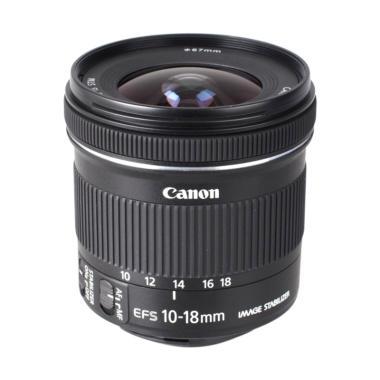 Canon EFS 10-18mm IS STM Lensa Kamera for Canon DSLR