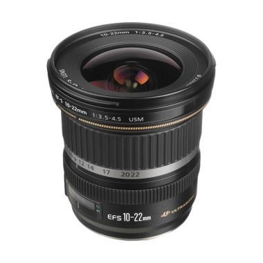 Canon EFS 10-22MM USM Lensa Kamera