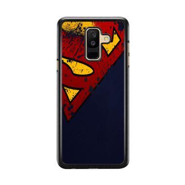 Flazzstore Dc Comics Superman Distr ... msung Galaxy A6 Plus 2018