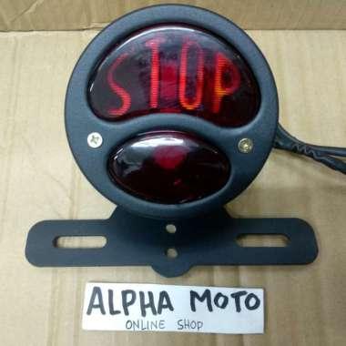 harga Lampu stop japstyle cafe racer chopper japs harley custom rem Multicolor Blibli.com