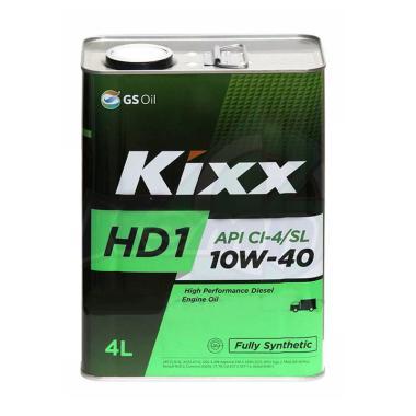 Kixx HD1 D1 10w40 Oli Pelumas Mesin 4 L Diesel