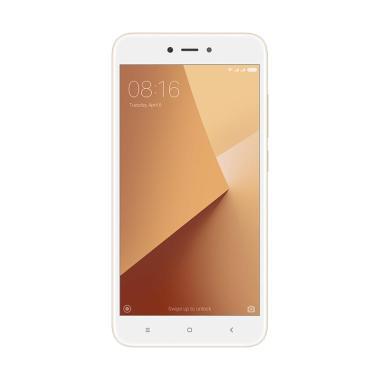 Xiaomi Redmi 5A Smartphone - Gold [16GB/ 2GB] Garansi Resmi TAM