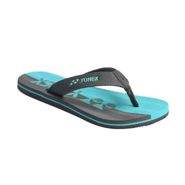 YONEX Men Slippers Cool 1 Sandal Pria - Grey Sea Green [SLPCOOL1ZZZZ-GRSEGR]