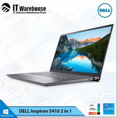 harga Dell Inspiron 5410 - Notebook [ i5-1135G7 - 8GB - 512GB - Intel(R) Iris(R) Xe - Windows 10 Home + OHS2019] Platinum Silver Blibli.com