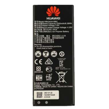 harga Baterai For Huawei SCL L21 / SCL-L21 - OEM Baterai Batre Battery Batery batrai Batere Batrei HB4342A1RBC Hp Handphone Hape Blibli.com