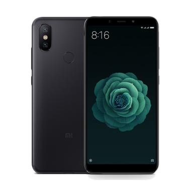 Xiaomi Mi 6X-MI A2 Smartphone - Black [64GB/ 4GB]