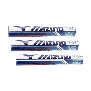 Mizuno Shuttlecock Badminton [MS 50/ Speed 76] - 3 SLOP - Advance White