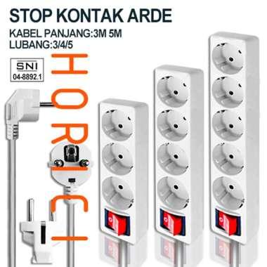 harga SNI STOP KONTAK 3/4/5LUBANG + KABEL PANJANG 3M & 5M / STOP KONTAK KABEL COLOKAN 3 LUBANG 5METER Blibli.com
