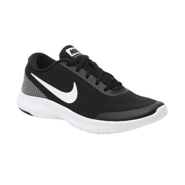NIKE Flex Experience RN 7 Sepatu Lari Wanita - Black White [908996001]
