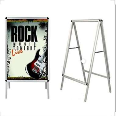 harga Stand banner 2 Side Pavement Sign 80x120&90x120 2Side 90x120 Blibli.com