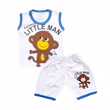 Skabe 2541 Setelan Baju Singlet Anak Bayi Laki Laki