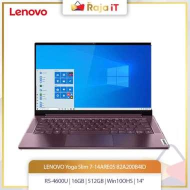 harga LENOVO Yoga Slim 7-14ARE05(R5-4600U/16GB/512GB/Win10OHS/14