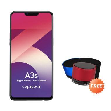 OPPO A3S Smartphone [16GB/ 2GB] + Free Bluetooth Speaker