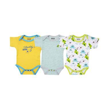 harga Toadies Bodysuits  Dino Boy Jumpsuit Anak - Multicolor [3 Pcs] Blibli.com