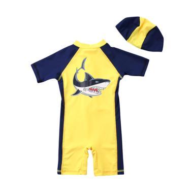 Abby Baby Shark Swimsuit Baju Renang Bayi