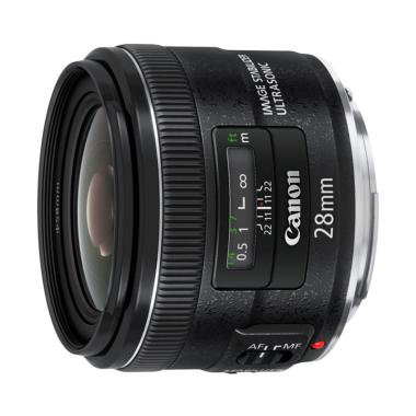 Canon EF 28mm F/2.8 IS USM Lensa Kamera
