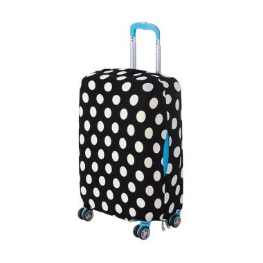 HomeStuff Luggage Elastis Polkadot Cover Koper [Size XL/ 26-28 Inch]