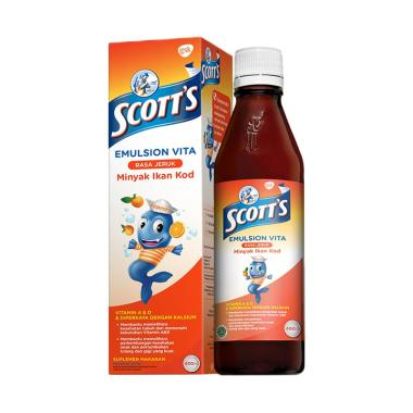 Scott's Emulsion Vita Rasa Jeruk Multivitamin Anak [400 mL]
