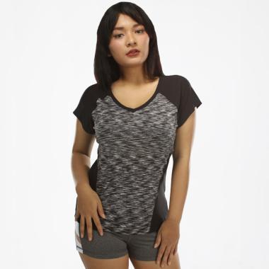 harga N.Y.L Active Vneck Insert Women's Tee Baju Olahraga Wanita [03NYLT00023] Blibli.com