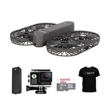 Brica Invra5 Hybrid Drone + Free B- ... ard 32 GB + Black T-Shirt
