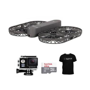 Brica Invra5 Hybrid Drone + Free B- ... mory Card 32 GB + T-Shirt