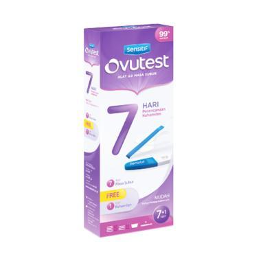 Ovutest Seven Days Plan Alat Uji Masa Subur + Free Sensitif Compact