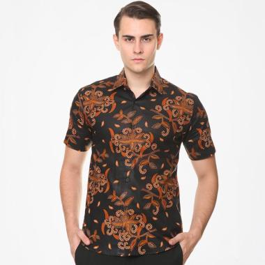 Batik Agrapana Adwitiya Slim Fit Print Kemeja Batik Pria