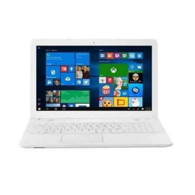 harga Asus VivoBook Max X441UA-GA314T Laptop - White [Core i3-7020U/ HDD 1TB/ Memory 4GB DDR4/ DVD-RW/ Windows 10/14