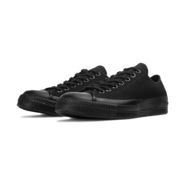 harga Converse Chuck Taylor All Star Sepatu Sneakers Pria - Full Black [1970S] Blibli.com
